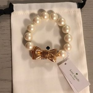Kate Spade - Wrapped Up In Pearls Bracelet -NWT